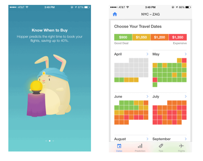 Create mobile app that makes finding information easy for users